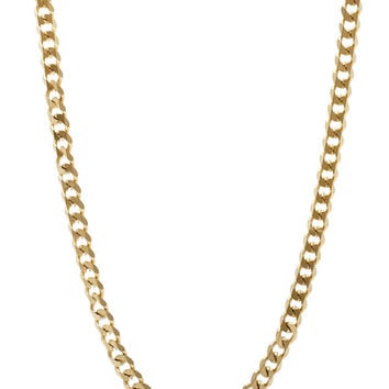 Mister Facet Curb Chain - Gold