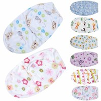 Lovely Baby Swaddle Wrap Soft Envelope Newborn Baby Blankets Swaddling Infant Sleeping Bag Warm Baby Bedding Blanket For 0-6M