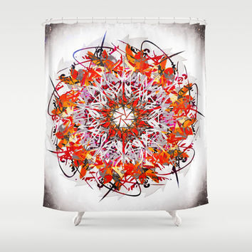 GAMANI Shower Curtain by Chrisb Marquez