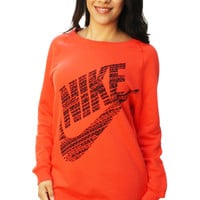Nike Women's Loose Fit Oversized Pullover Sweater