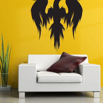 Vinyl Wall Decal Sticker Mythical Bird Silhouette #1312