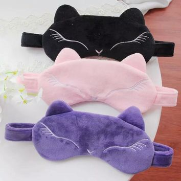 Foxy Lady Soft Sleep Mask (ice/heat pack included)