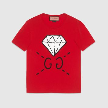 Kids GUCCI GG Diamond T shirt
