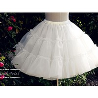 [$26.00]Puffy Organdy Petticoat by Aurora and Ariel