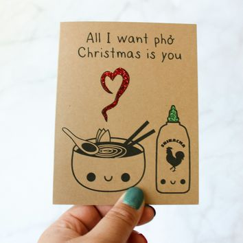 All I Want Pho Christmas Is You