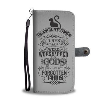 Cat Worship Wallet Phone Case