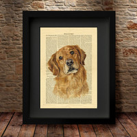 Dog Print, Dog Art, Dog Poster, Animal Art Print Poster, Pet Painting, Dog portrait, Pet portrait, Wall Art Animal Poster, Home Decor -15