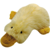 Multipet Duckworth Webster Yellow Plush Filled Dog Toy 13""