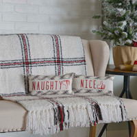 Amory Naughty and Nice Pillow Set