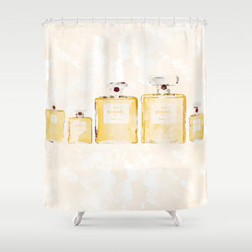 Chanel Family  Shower Curtain by Rui Faria