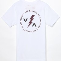 RVCA Strike VA T-Shirt - Mens Tee - White