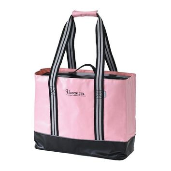 2 in 1 Cooler Tote Bag ~ Pink
