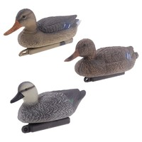 Floating Mallard Duck Decoys Drake & Hen Wildfowling Hunting Fake Birds Garden Supplies Lawn Farms Scarer Scarecrow