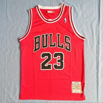 NBA Chicago Bulls #23 Michael Jordan 1997-98 Edition Swingman Jersey
