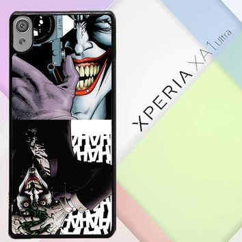 The Joker The Killing Joke Case - Batman V0160 Sony Xperia XA1 Ultra Case