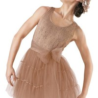 Racerback Lace Tulle Dress - Balera