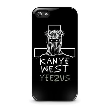 kanye west yeezus iphone 5 5s se case cover  number 1