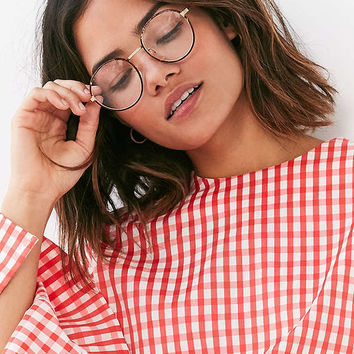 Replay Vintage Professor Round Readers | Urban Outfitters