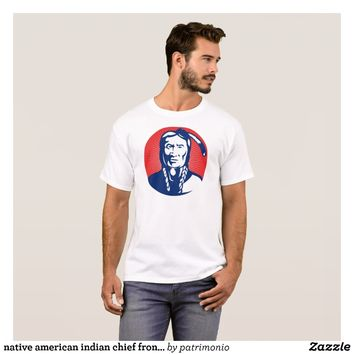 native american indian chief front view T-Shirt