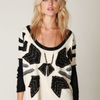 Free People Nordic Compass Long Sleeve Top at Free People Clothing Boutique