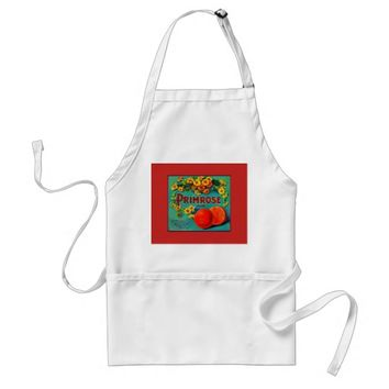 Vintage fruit co. apron