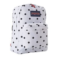 JanSport SuperBreak® White/Black Gracie Dot - Zappos.com Free Shipping BOTH Ways
