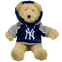 "MLB New York Yankees 8"" Fuzzy Hoody Bear"