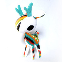 Bold Geometry Deer Plush
