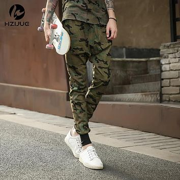 HZIJUE 30-36  hip hop military urban clothing camo joggers sweats harem pants cool sweatpants jogers trousers militar camouflage