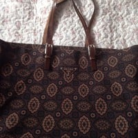 Large Prada Tote Bag
