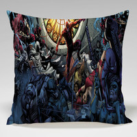 shadowland splash marvel superhero Square Pillow Case Custom Zippered Pillow Case one side and two side