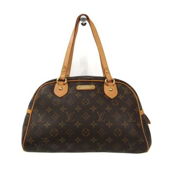 Louis Vuitton Monogram Montorgueil PM M95565 Women's Boston Bag Monogra BF312156