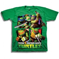Teenage Mutant Ninja Turtles TMNT This Is Epic Toddler Green T-Shirt - Teenage Mutant Ninja Turtles - | TV Store Online