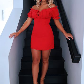 *Date Night Dress: Red