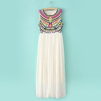 Aztec on Top Dress