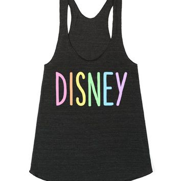 Rainbow Disney | Racerback | SKREENED