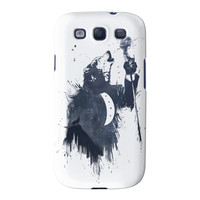 Wolf Song 3 Full Wrap High Quality 3D Printed Case for Samsung Galaxy S3 by Balazs Solti