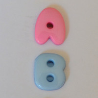 "Buttons, novelty, baby, sewing or craft supply, 3/8"" childrens wear notions, commercial, 99 cents shipping"
