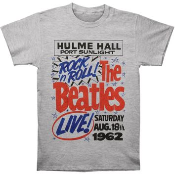Beatles Men's  Rock N Roll Vintage T-shirt Vintage Heather
