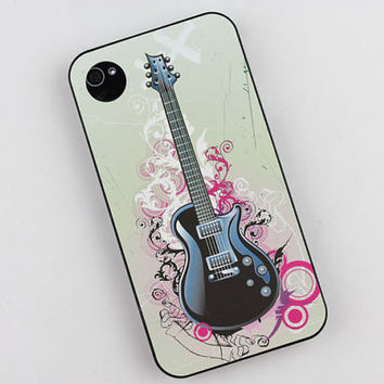 Tide Guitar Hard Case Cover for Apple iPhone 4gs Case, iPhone 4s Case, iPhone 4 Hard Case