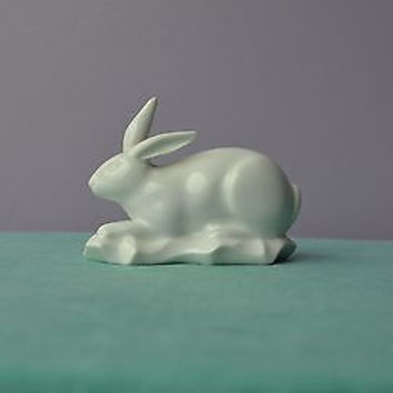 Haviland White Porcelain Rabbit In Mint Condition Made in Limoges France c.19th