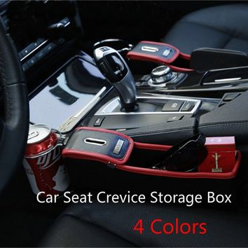 Multi-function Car Seat Crevice Storage Box Cup Drink Holder Organizer Auto Gap Pocket Stowing
