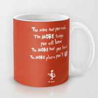 dr seuss the more that you read Mug by studiomarshallarts