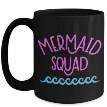 Travel Agent Ladies' Travel Group Coffee Mug Mermaid Squad