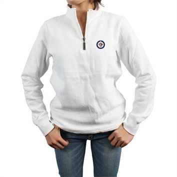 Levelwear Winnipeg Jets Women's Newbie Quarter-Zip Pullover