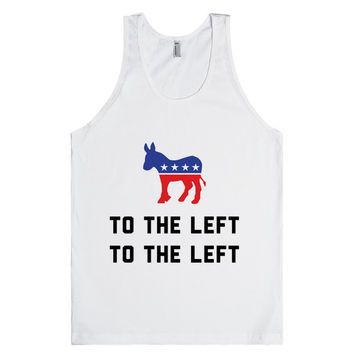 To The Left Democrat Donkey