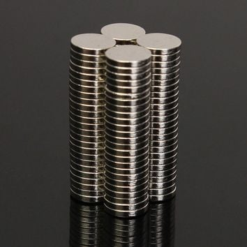 100pcs 6x1mm N52 Round Magnets Disc Neodymium Rare Earth Magnet Strong Small Fridge Magnets 6mm x 1mm