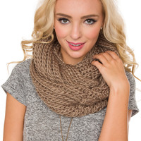 Once Upon A Time Scarf - Taupe