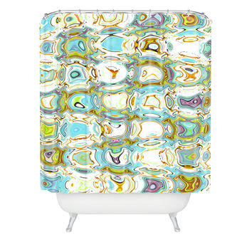 Ingrid Padilla Wavey Shower Curtain