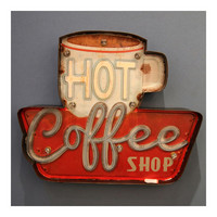 Bar Cafes Vintage Wall Hanging Decoration LED Lamp